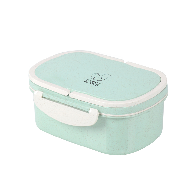 Eco lunch box, insulated lunch box Wheat straw