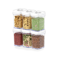 6PCS 0.9L Set Kitchen Pantry Organization And Storage
