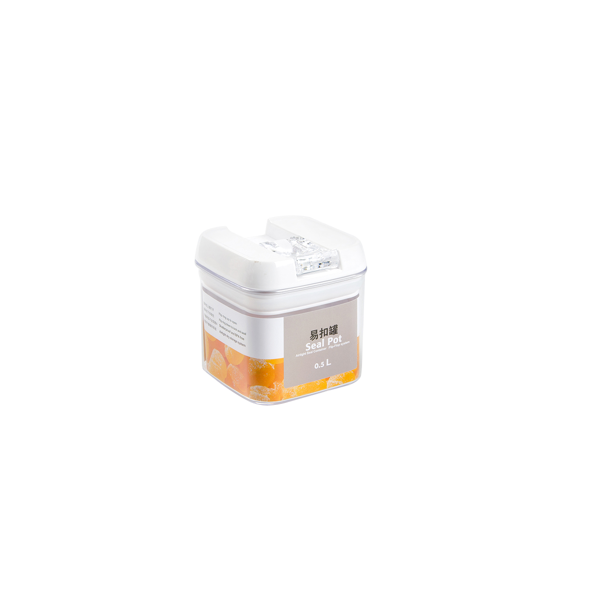PS 1L Food Storage Container with New Lids