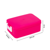 Portable Lunch Box Plastic Bento Box with Water Bottle