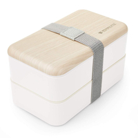 Bento Box with Divider, Leakproof Lunch Boxes