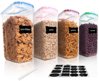4L Cereal Storage Container Set